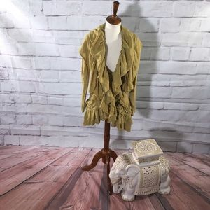 Guinevere Wool Sweater Cardigan